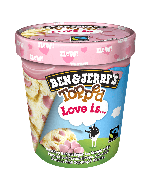 Ben & Jerry's Topped Love Is