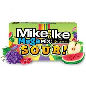 Mike & Ike - Sour Mega Mix