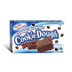 Fudge Brownie Cookie Dough Bites