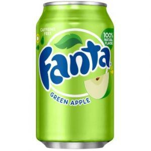 Fanta - Green Apple