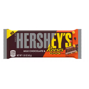 Hershey's - Milk Chocolate Bar With reese´s Pieces