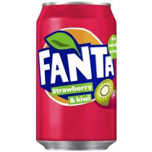 Fanta - Strawberry & Kiwi