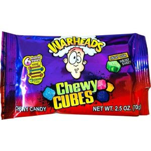 WarHeads - Chewy Cubes
