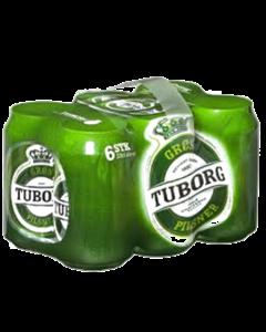 Grøn Tuborg 33cl 6 pack