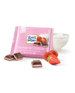Ritter Sport - Strawberry Yogurt