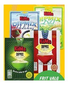 Kim´s DipMix Flere varianter