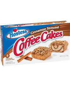 Hostess - Coffee Cakes Cinnamon Streusel