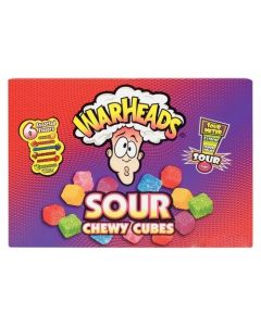 Warheads Sour - Chewy Cubes