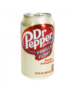 Dr Pepper Vanilla Float Soda
