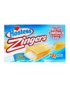 Twinkies Zingers Iced vanilla