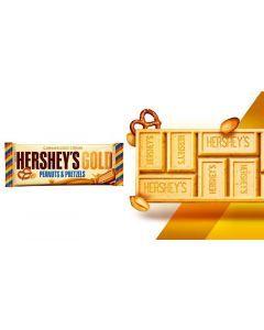 Hershey's - Gold Peanuts & Pretzels