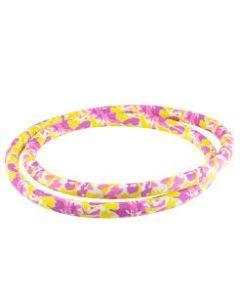 Silikone Slange - Pink & Gul