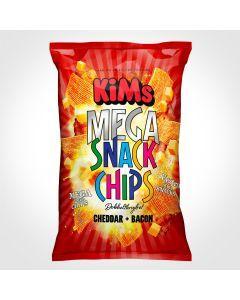 Kims - Mega Snack Chips - Cheddar & Bacon