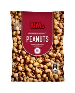 Kim´s Peanuts Saltede 250 g