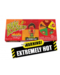 Jelly Belly Flamin Five Challenge Spinner Box
