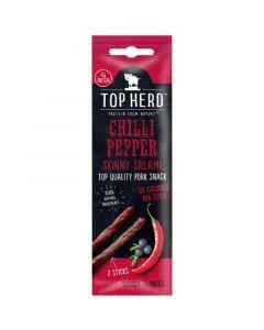 Top Herd Salami Chili Pepper Jerky Sticks 40g