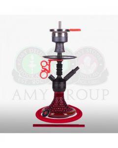 Amy Deluxe - Alu Antique Berry Mini - Black & Red