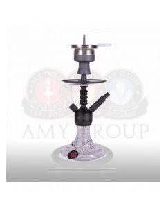Amy Deluxe - Alu Antique Berry Mini - Black & Clear