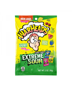 Warheads Extreme Sour - Hard Candy (56g)